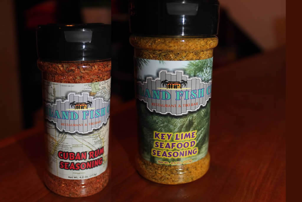 Spices With Island Fish Co Logo