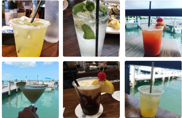 Drinks At Island Fish Co