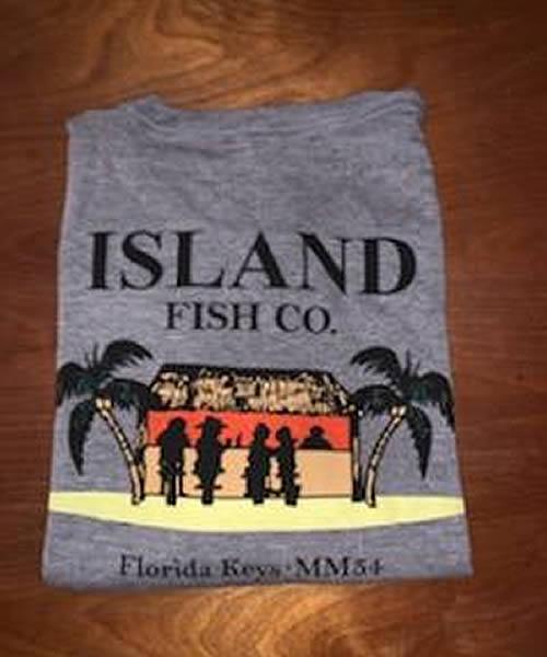 Island Fish Co Tiki Tee