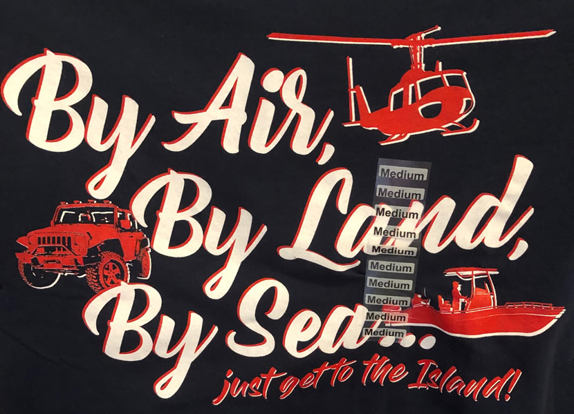 By Air By Land By Sea