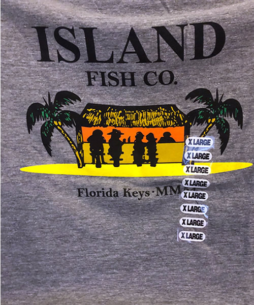 Island Fish Co Tiki Tee